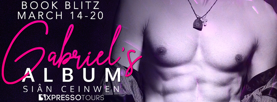 Welcome to the book blitz for GABRIEL'S ALBUM, the first book in the new adult contemporary romance series, Cruise Control Heroes, by Sian Ceinwen