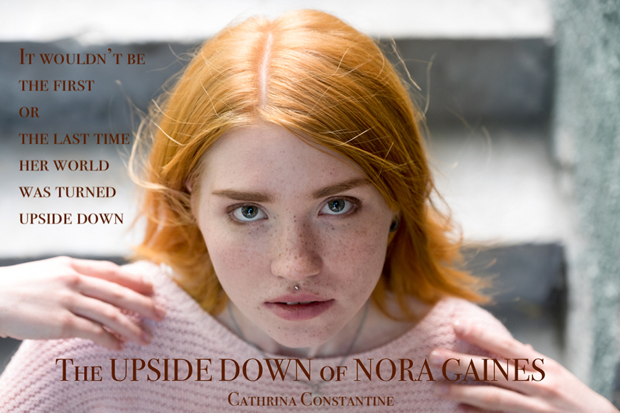 Teaser from THE UPSIDE DOWN OF NORA GAINES, a standalone young adult paranormal fantasy by Cathrina Constantine
