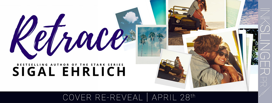 Author Sigal Ehrlich is revealing the cover to RETRACE, a stand-alone new adult contemporary romance