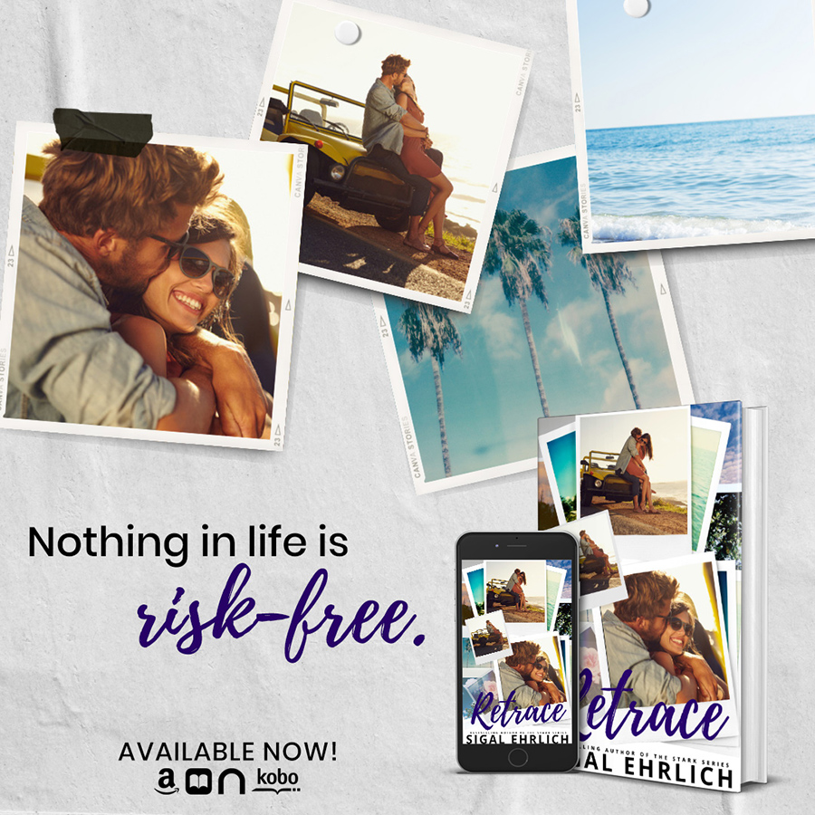 Teaser from RETRACE, a stand-alone new adult contemporary romance, by Sigal Ehrlich