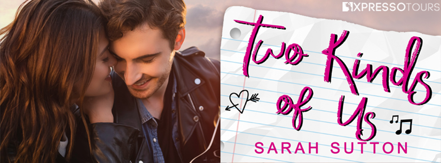 Author Sarah Sutton is revealing the cover to TWO KINDS OF US, a stand-alone young adult contemporary romance, releasing May 25, 2021