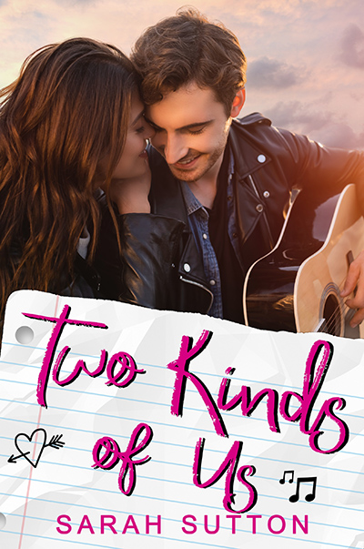 TWO KINDS OF US, a stand-alone young adult contemporary romance, by Sarah Sutton