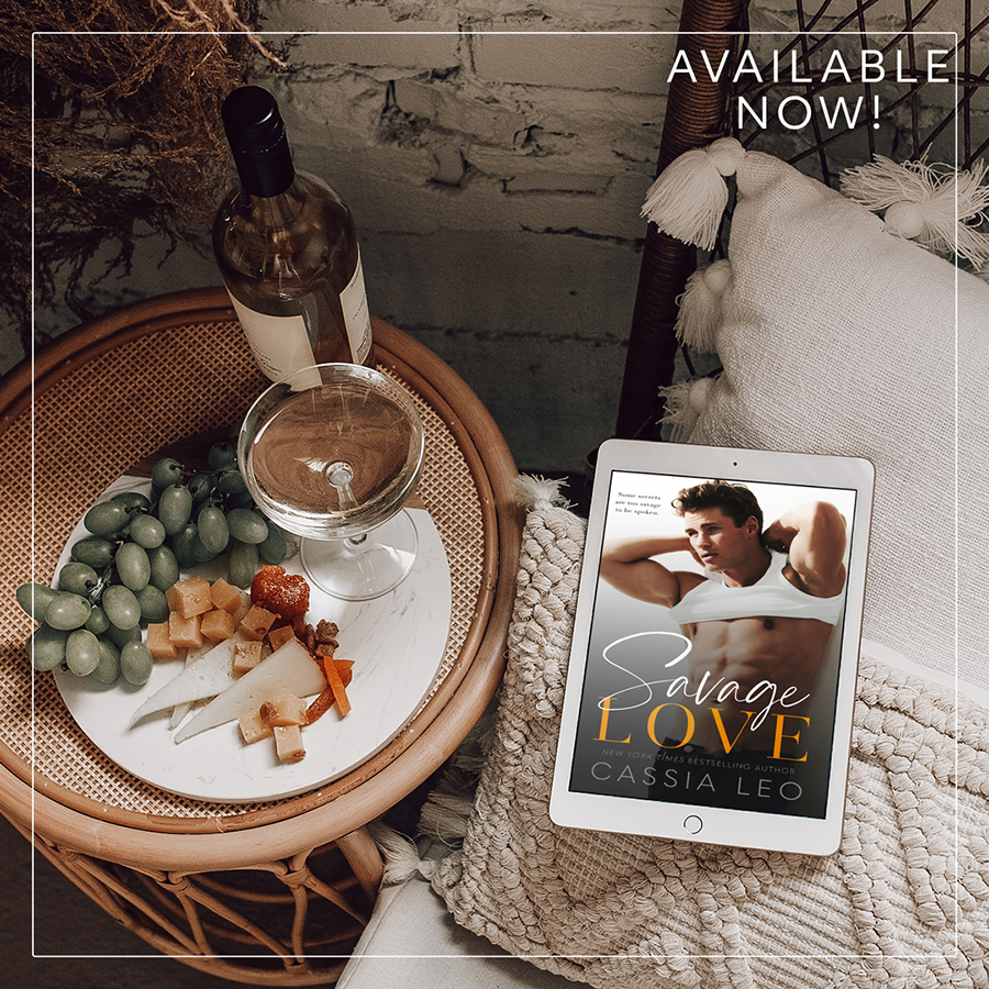SAVAGE LOVE, the first book in the adult contemporary romance series, Love Like This, by New York Times bestselling author, Cassia Leo is Available Now!