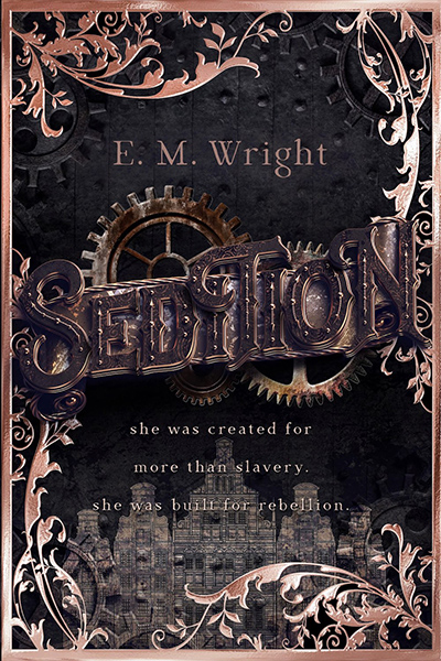 SEDITION, the first book in the young adult steampunk series, Children of Erikkson, by E.M. Wright