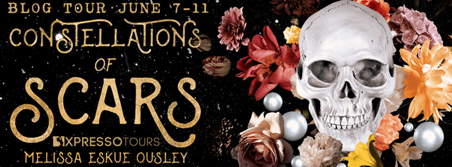 Welcome to the blog tour for CONSTELLATIONS OF SCARS, a standalone adult dark fantasy, by Melissa Eskue Ousley