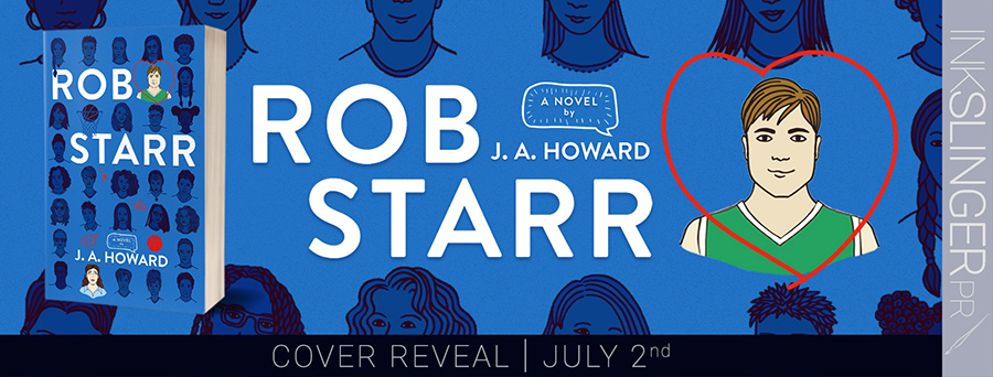 Author J.A. Howard is revealing the cover to ROB STARR, a standalone young adult contemporary romance, releasing August 19, 2021