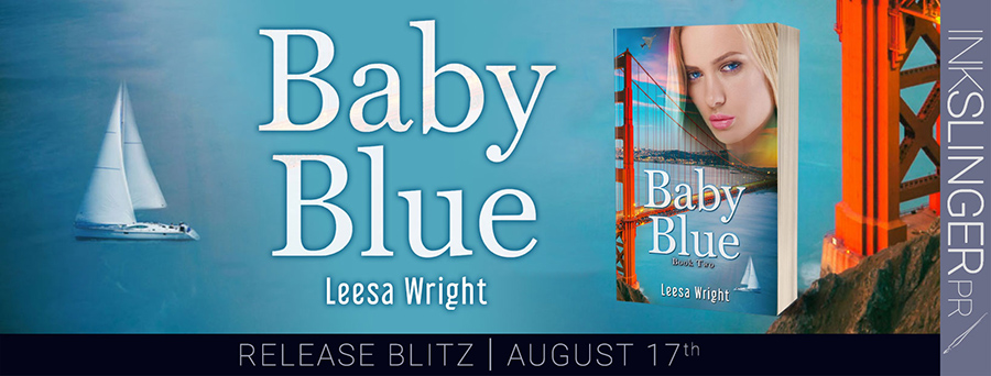 Today is release day for BABY BLUE, the second standalone book in her the historical romance series, Corrington Brothers, by Leesa Wright