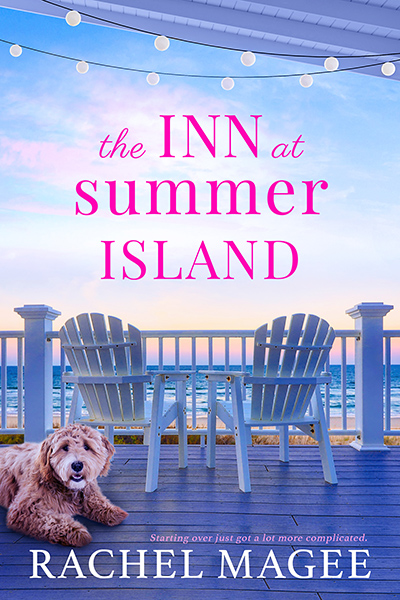 THE INN AT SUMMER ISLAND, a stand-alone adult contemporary romance, by Rachel Magee