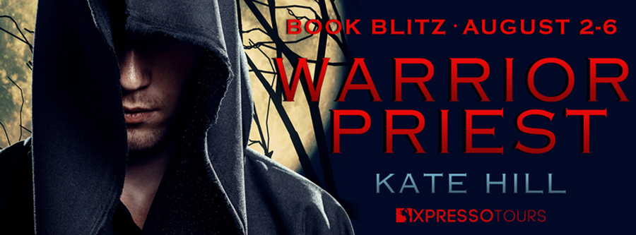 Welcome to the book blitz for WARRIOR PRIEST, a standalone adult scifi romance, by Kate Hill