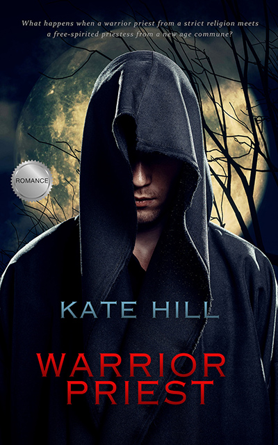 WARRIOR PRIEST, a standalone adult scifi romance, by Kate Hill