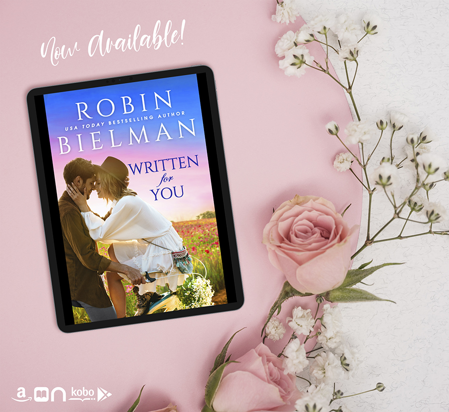 Teaser from WRITTEN FOR YOU, a standalone adult romantic comedy, by USA Today bestselling author, Rachel Bielman