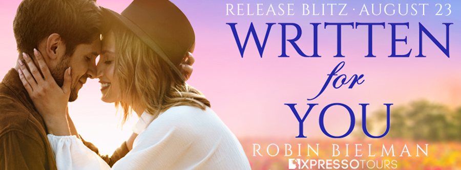 Welcome to the release blitz for WRITTEN FOR YOU, a standalone adult romantic comedy, by USA Today bestselling author, Rachel Bielman