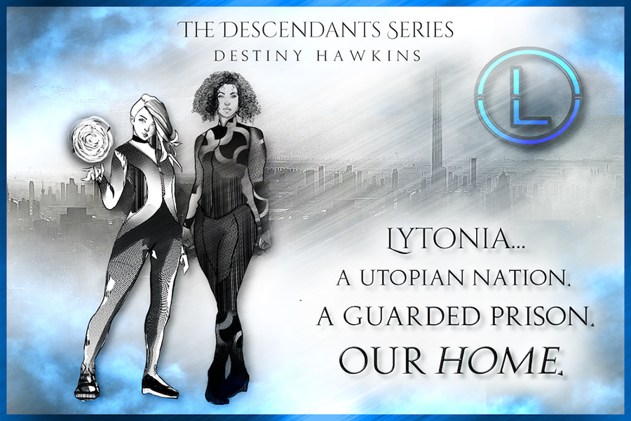 Teaser from THE DESCENDANTS, the first book in the adult dark fantasy, dystopian series, The Descendants, by Destiny Hawkins