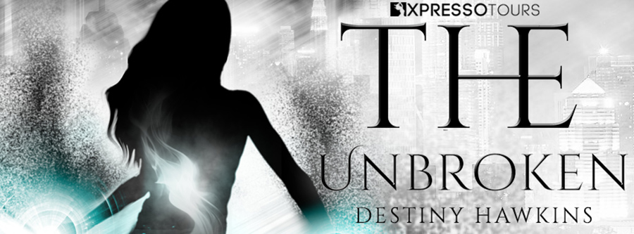 Author Destiny Hawkins is revealing the cover to THE UNBROKEN, the third book in the adult dark fantasy, dystopian series, The Descendants, releasing April 2022