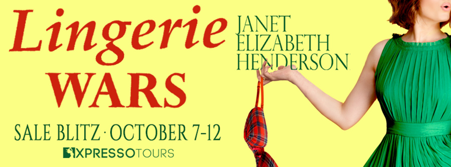 Welcome to the book blitz for LINGERIE WARS, the first book in the adult contemporary romance/romantic comedy series, Invertary, by Janet Elizabeth Henderson