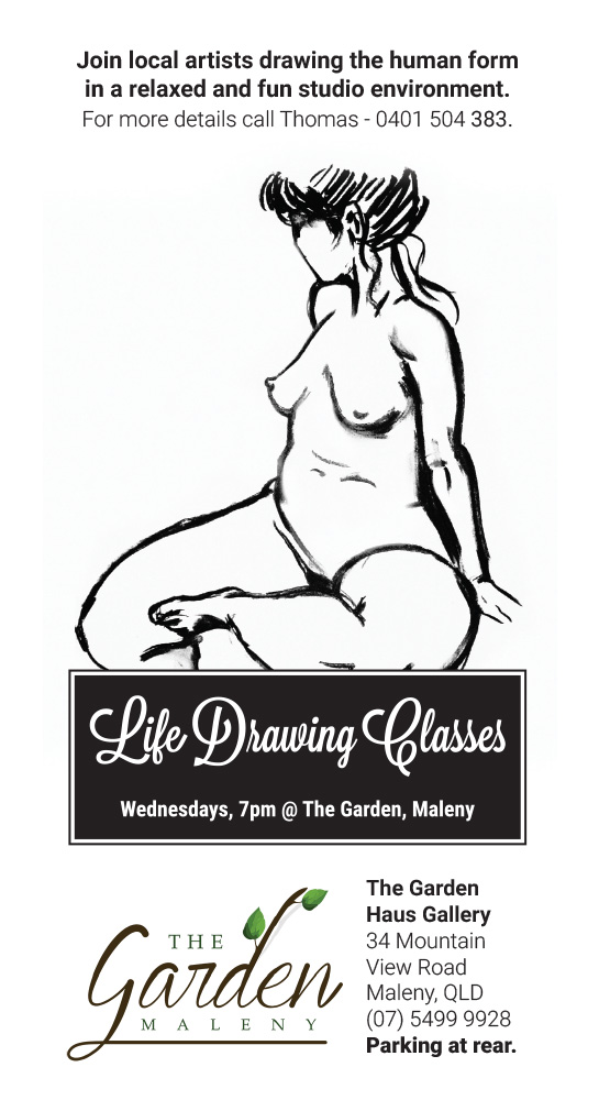 Life drawing class by Thomas Hamlyn-Harris