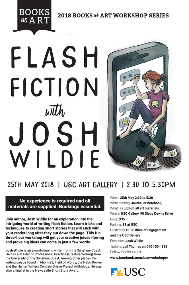 Flash Fiction Workshop by Josh Wildie