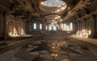 THRONE ROOM - The Temple of Utu - MartinH & Minos  polycount
