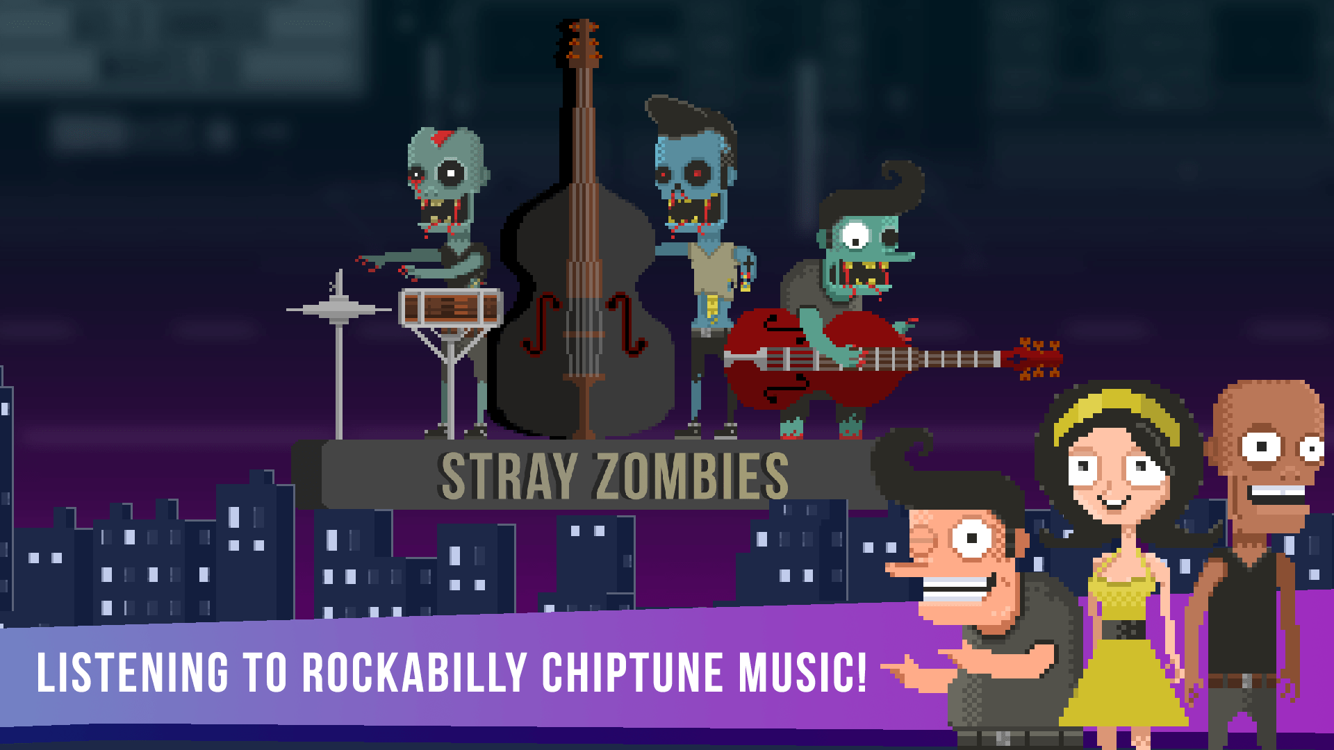 Chiptune and Rockabilly for Drop Dead Twice