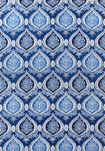 Black Velvet Damask Wallpaper Midland Navy F924314 Collection Bridgehampton From Thibaut