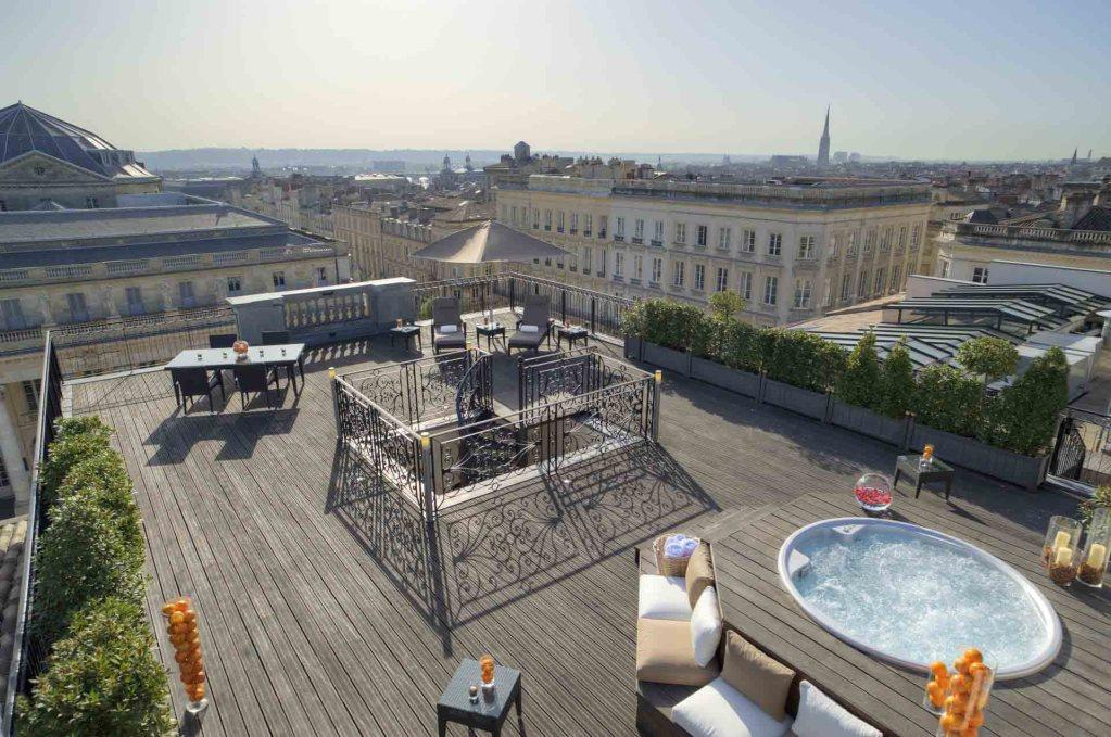 interContinental Bordeaux - Le Grand Hôtel - Terrasse suite royale