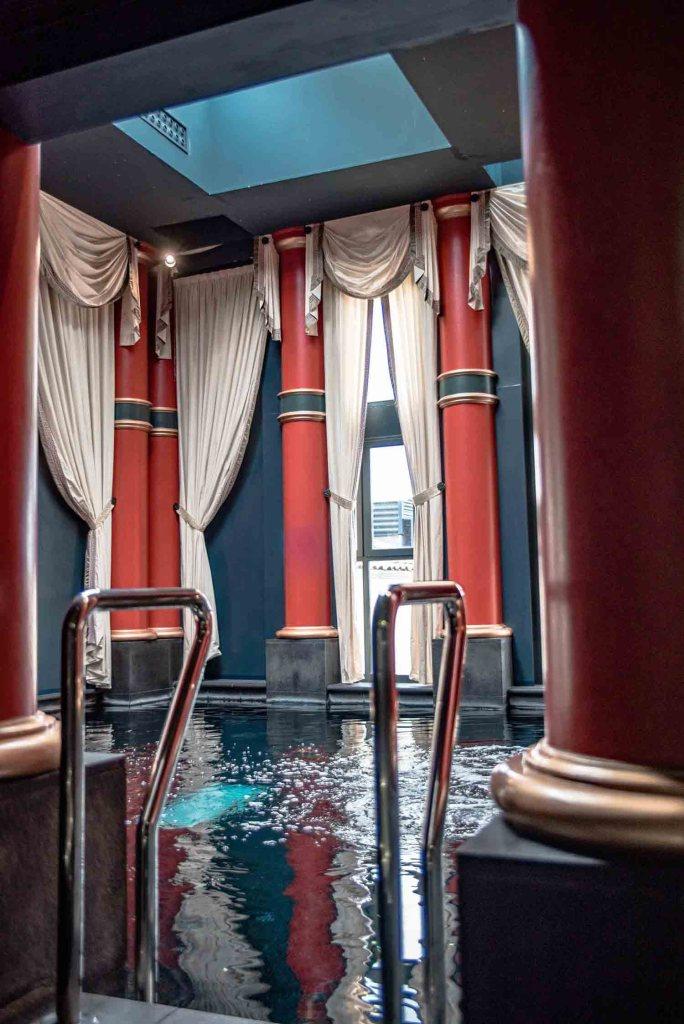 interContinental Bordeaux Le Grand Hotel - piscine du Spa Nuxe les bains