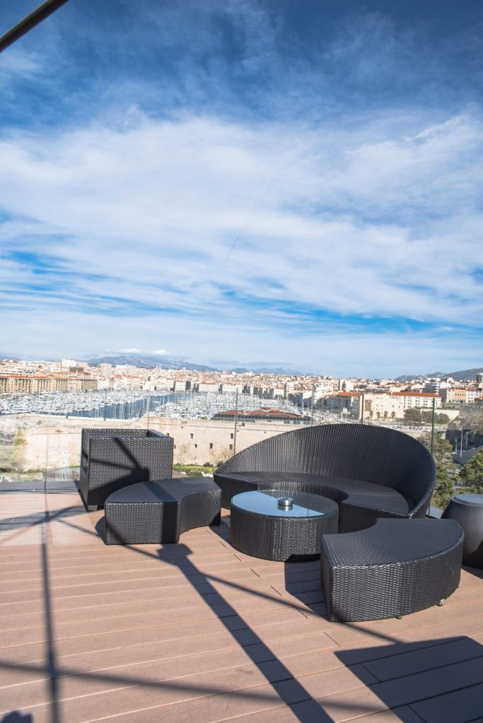 SOFITEL Marseille - Terasse