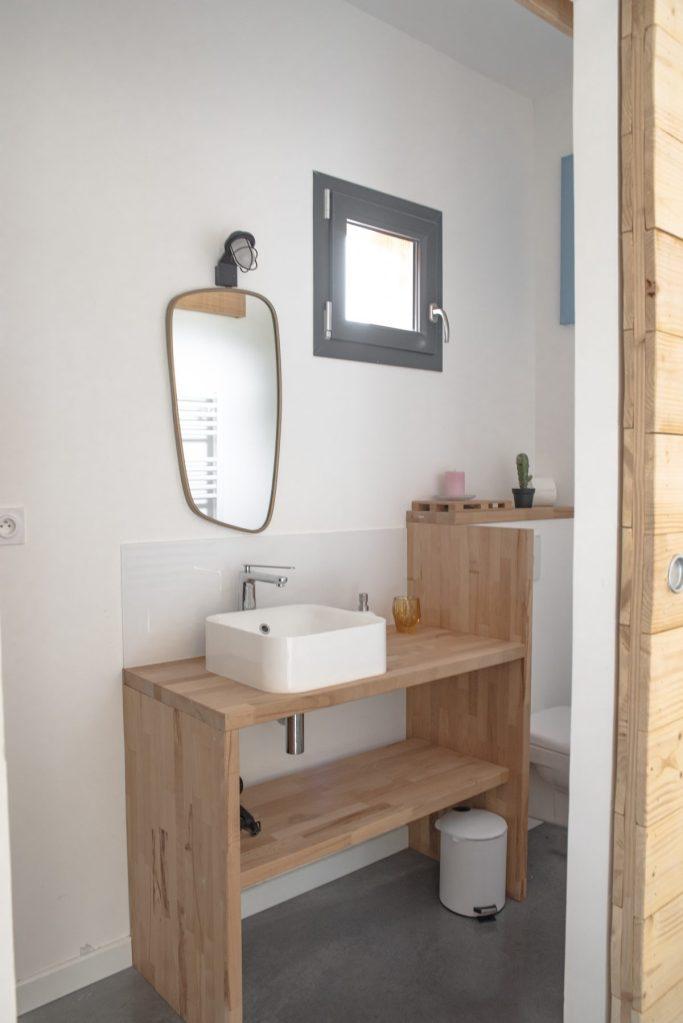 Baux de Provence - Domaine Mejan - Hotel - Salle de bain Lodge