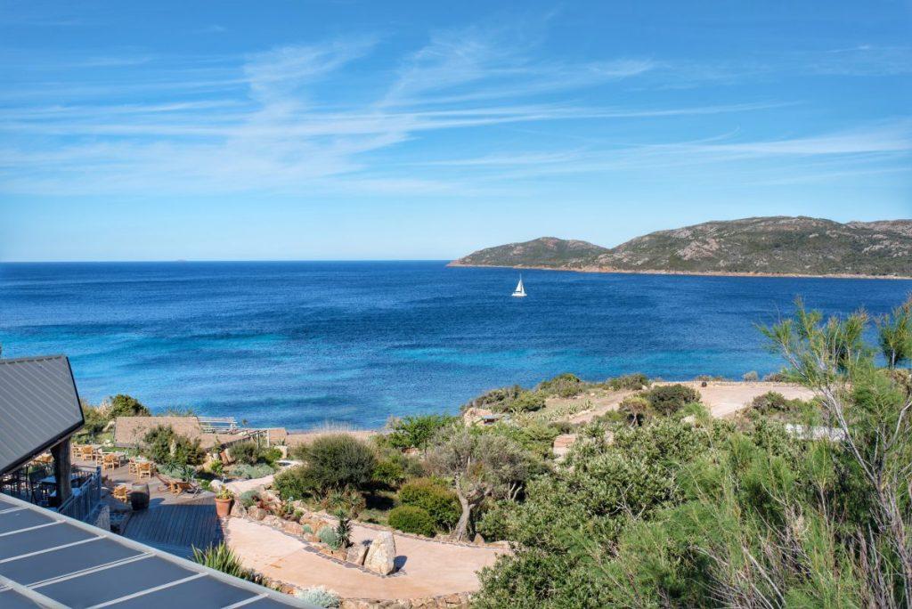 UcapuBiancu | Bonifacio | Corse | Vue depuis le jardin