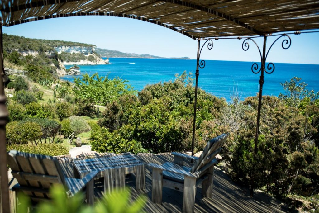 UcapuBiancu | Bonifacio | Corse | Diner avec vue