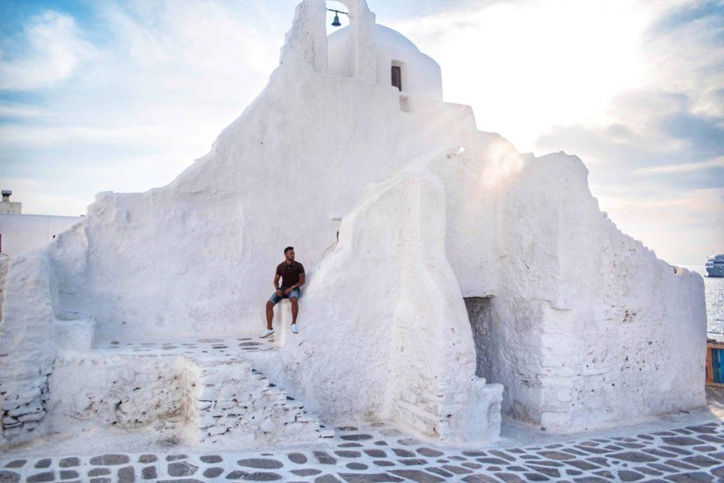 Grèce | Mykonos | ÉGLISE de PARAPORTIANI