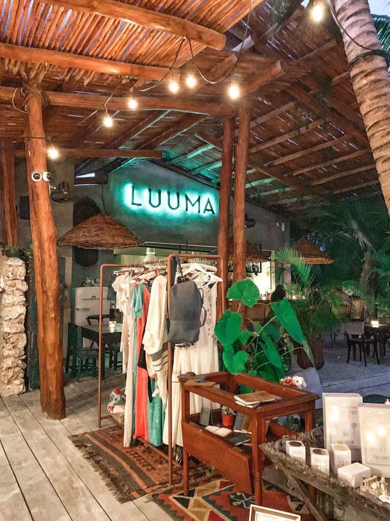 Luuma Restaurant in Holbox