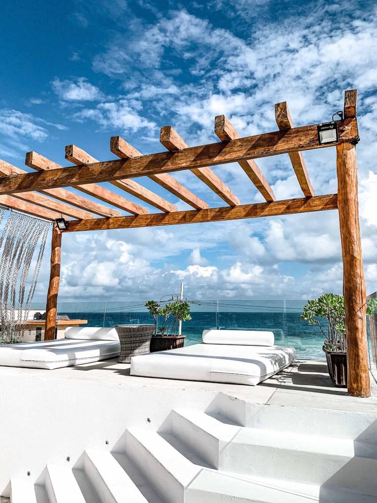 Isla Mujeres - Icaco Island - rooftop