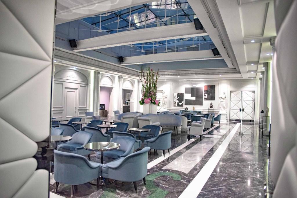 Grand salon | Bar de l-hôtel 5 étoiles à Lyon