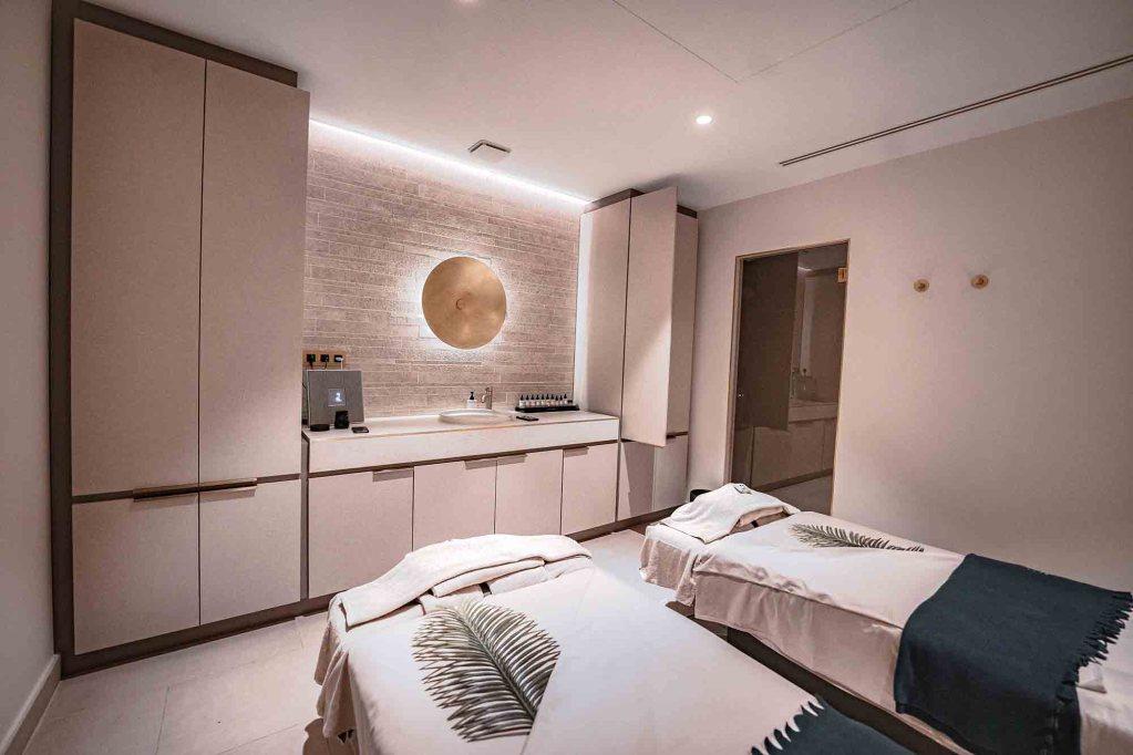 Salle de soin SPA pour un massage en duo