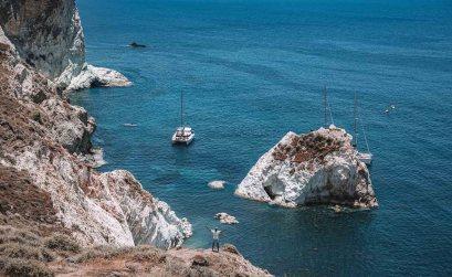 Santorin White Beach