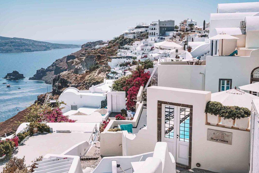 A la découverte de Santorin - Oïa en Grèce