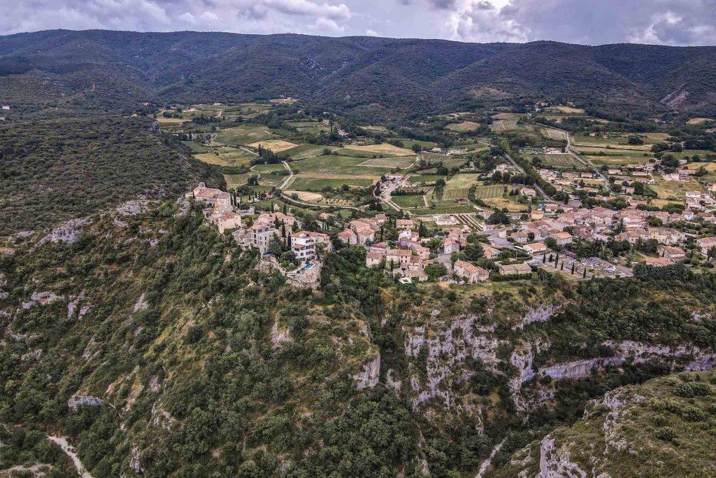 Village de Methamis proche luberon