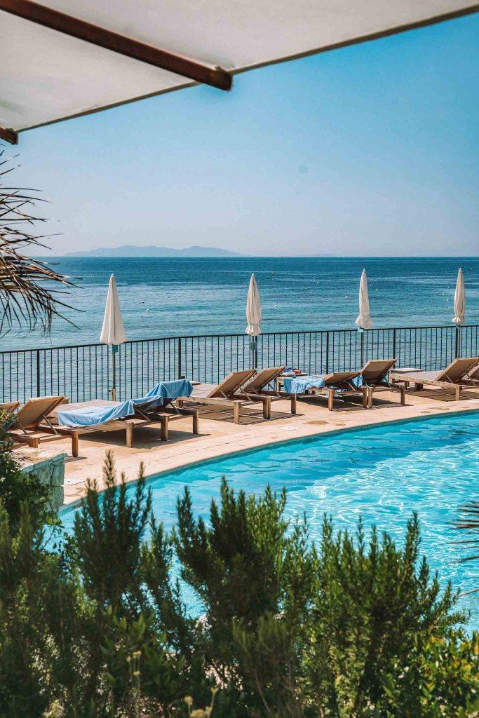 Hôtel 4 étoiles - Le Bailli de Suffren - Lavandou - Golfe de Saint-Tropez