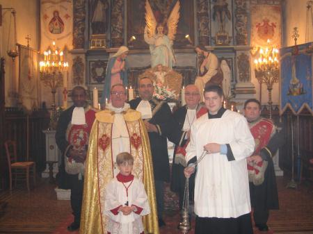 10 janvier 2010 Thiberville Charitons et servants