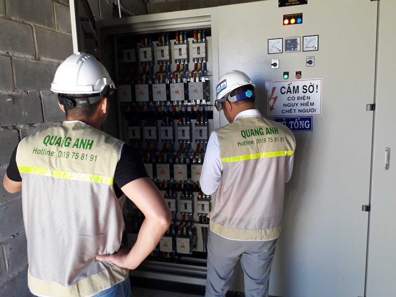 vietnam substation construction