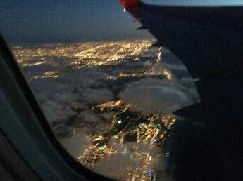 Chegando em Miami