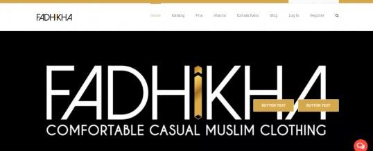 Onlineshop Pakaian Muslim Fadhikha