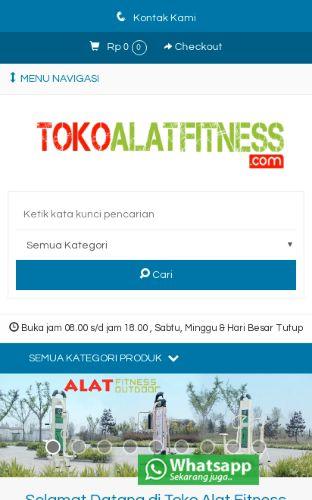 Onlineshop Toko Alat Fitness