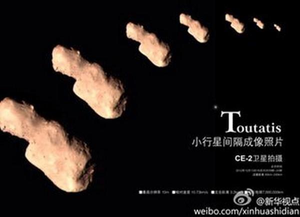 tieu hanh tinh Toutatis
