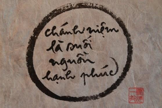 Chanh niem la suoi nguon hanh phuc