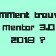 Comment trouver un mentor 3.0 en 2018 _