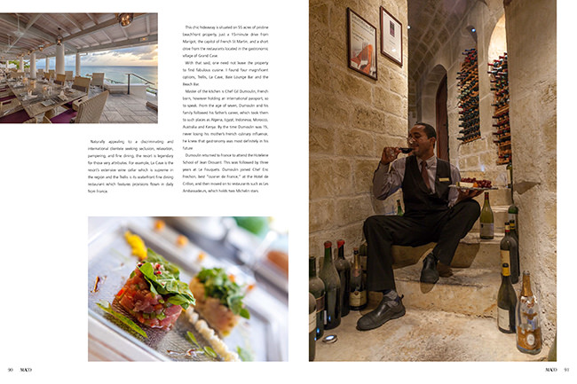 Maco Magazine La Samanna Feature in Saint Martin FWI