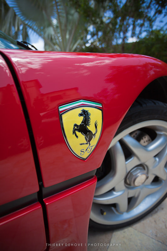 Detail of F40