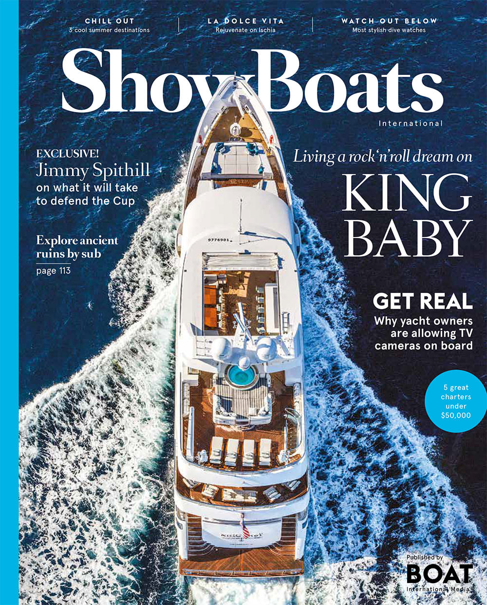 ShowBoat International April 2016 King Baby Motor Yacht 140